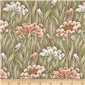 Tiffany Large Grassy Floral Green