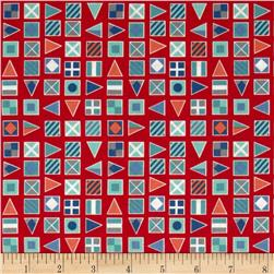 Nautical Flags Red