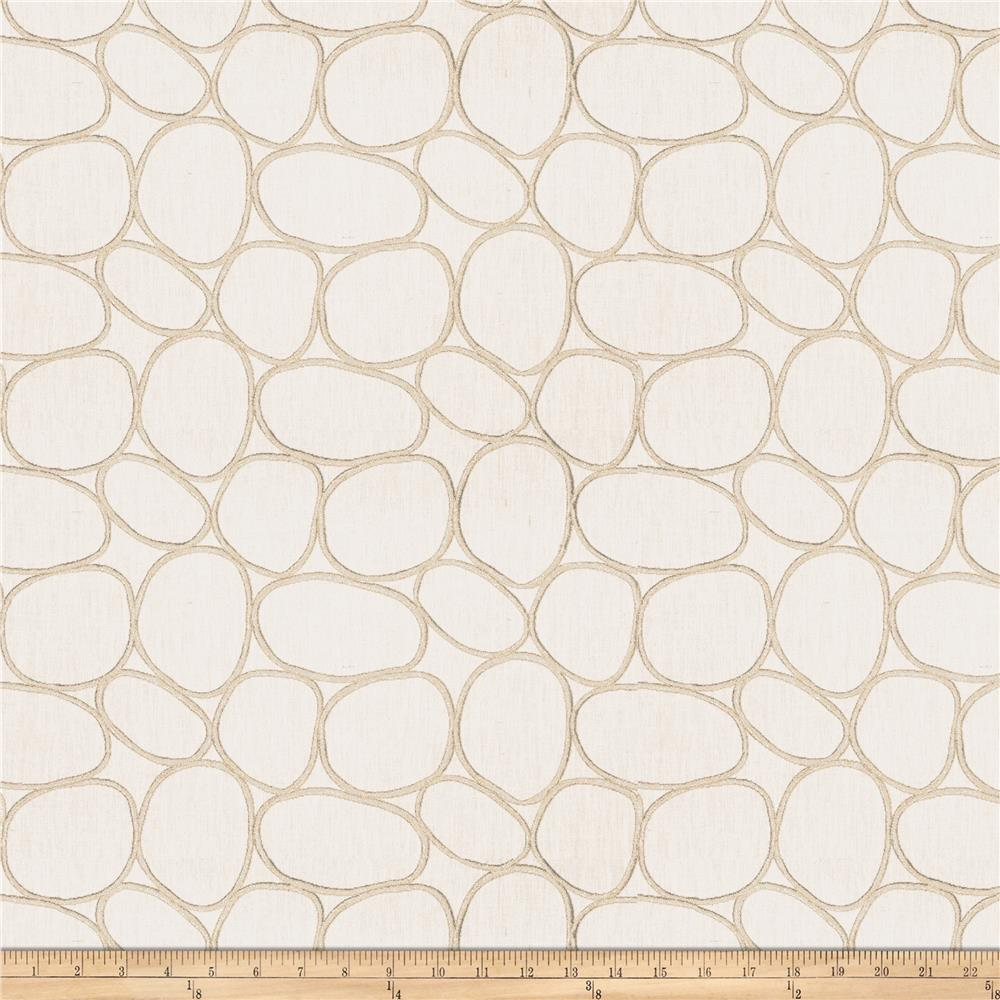Fabricut Cycle Metallic Creme
