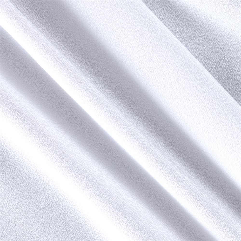 Polyester Crepe White