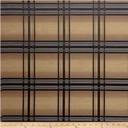 Fabricut Crypton Windowpane Peppercorn
