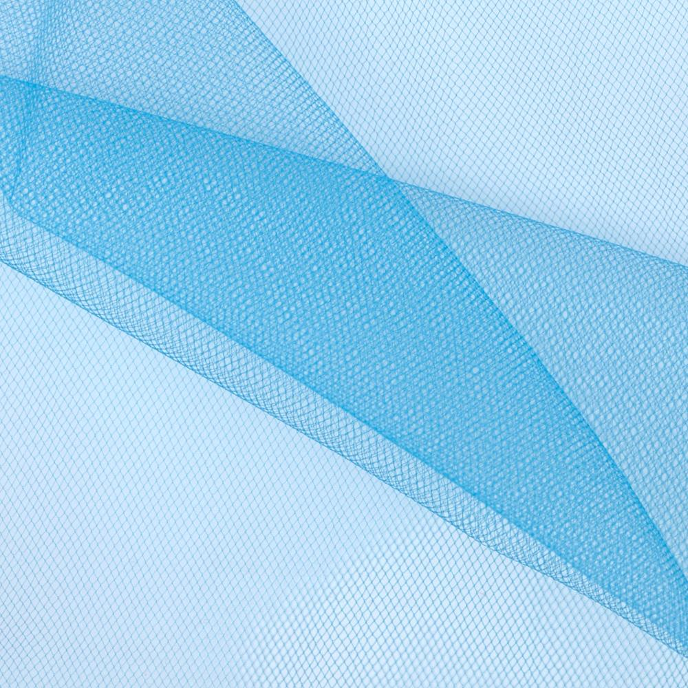 Nylon Net Turquoise Fabric By The Yard