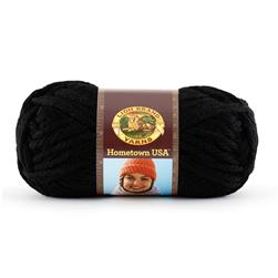 Lion Brand Hometown USA Yarn (153) Oakland Black