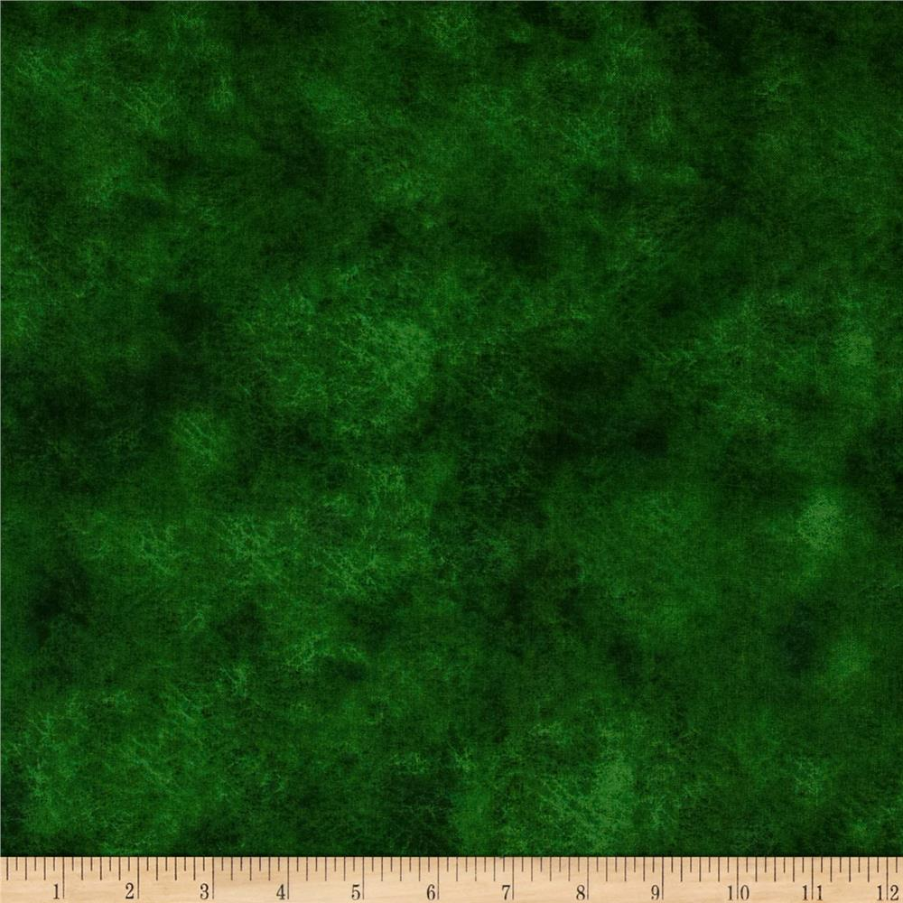 "Round Up 118"" Wide Quilt Backing Leather Texture Green"