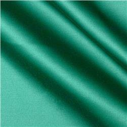 Stretch Cotton Poly Satin Emerald