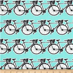 Contempo Our Town Bicycles Aqua
