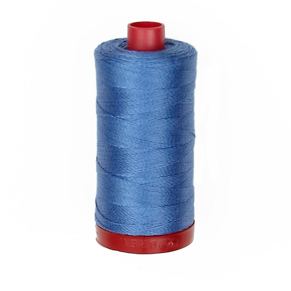 Aurifil 12wt Embellishment and Sashiko Dreams Thread Light Blue Violet