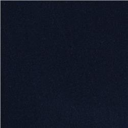 Stretch Rayon Jersey Knit Dark Navy Blue