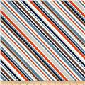 Riley Blake Super Star Stripe Blue