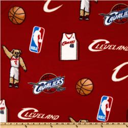NBA Fleece Cleveland Cavaliers Toss Red