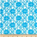 Raschelle Lace Turquoise