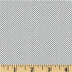 Moda Dottie Tiny Dots White/Black