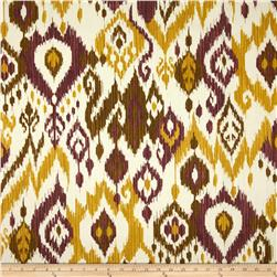 Swavelle/Mill Creek Indoor/Outdoor Shedlack-Veranda Ikat Plum