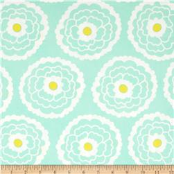 Art Gallery Essentials Girl About Town Mint Fabric