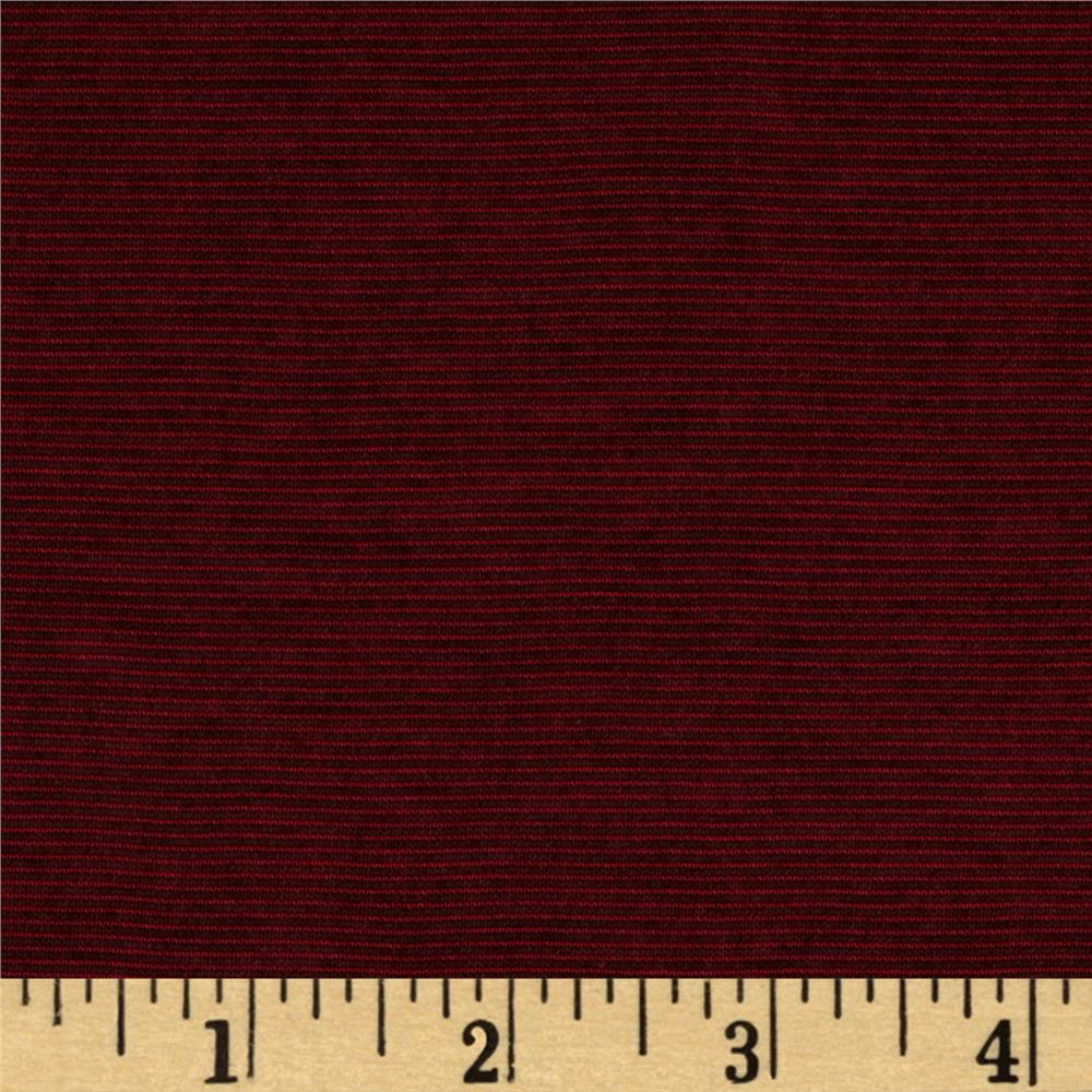 Stretch Hatchi Knit Maroon