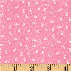 Dots and More Mini Floral Pink