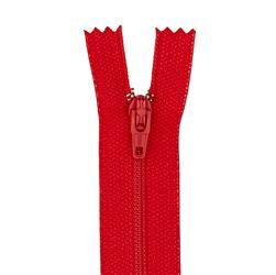 "Coats & Clark Poly All Purpose Zipper 14"" Atom Red"