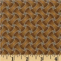 Jeanne Horton The Settlement Collection Basket Weave Brown