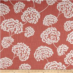 Robert Allen Crypton Toile Stems Coral Fabric