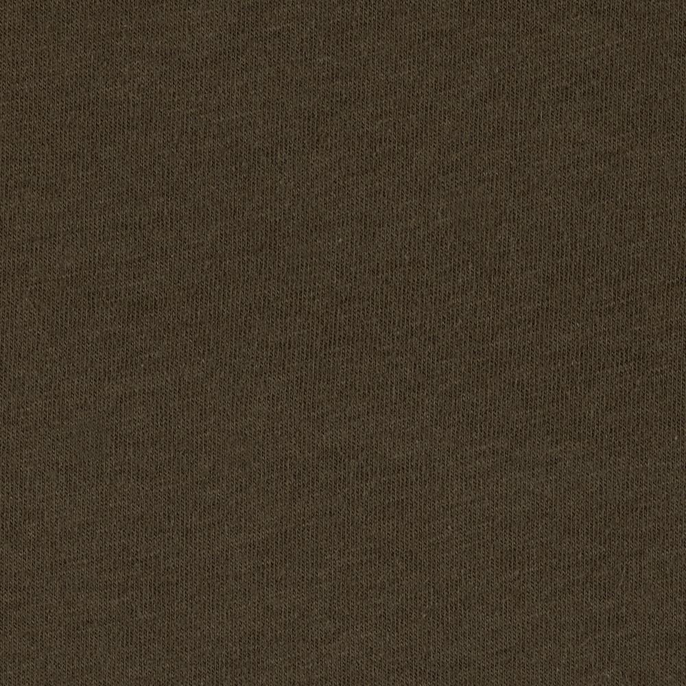 Stretch Cotton Jersey Knit Brown