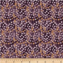 Native Pine Dots Purple