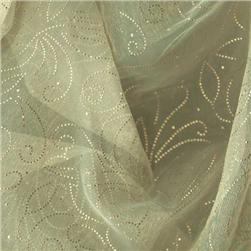 56'' Sheer Organza Constellation Cream