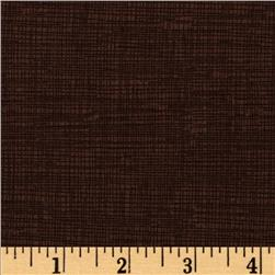 Timeless Treasures Sketch Coffee Brown Fabric