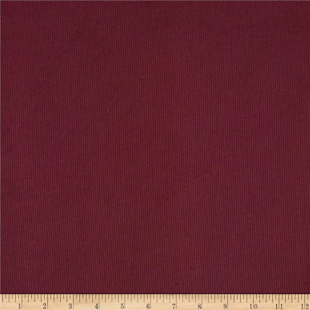 Kaufman 14 wale corduroy merlot discount designer fabric for Corduroy fabric