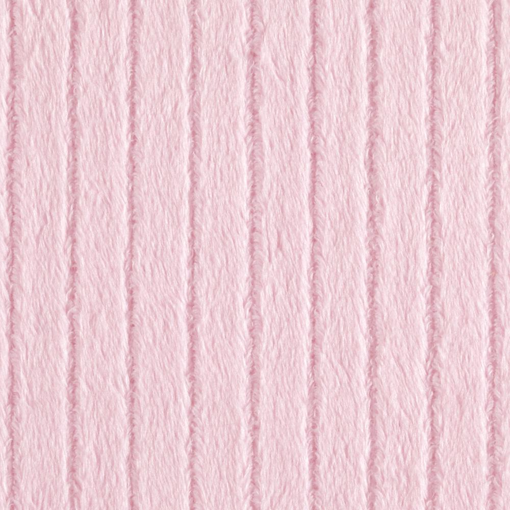 Minky Embossed Ribbon Cuddle Baby Pink
