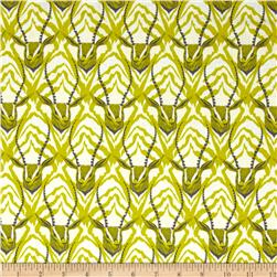 Cotton & Steel August Gazelle Lime