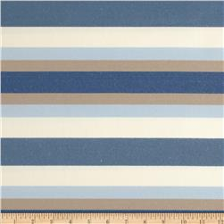 Jaclyn Smith Bank Stripe Blend Denim Fabric