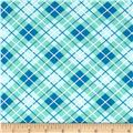 Hazel Plaid Blue