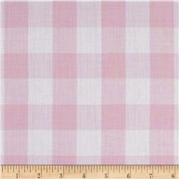 "Richcheck 60"" Gingham Check 1"" Pink"