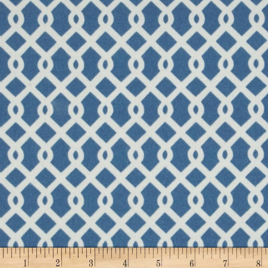 Waverly Sun N Shade Ellis Knot Atlantic Blue