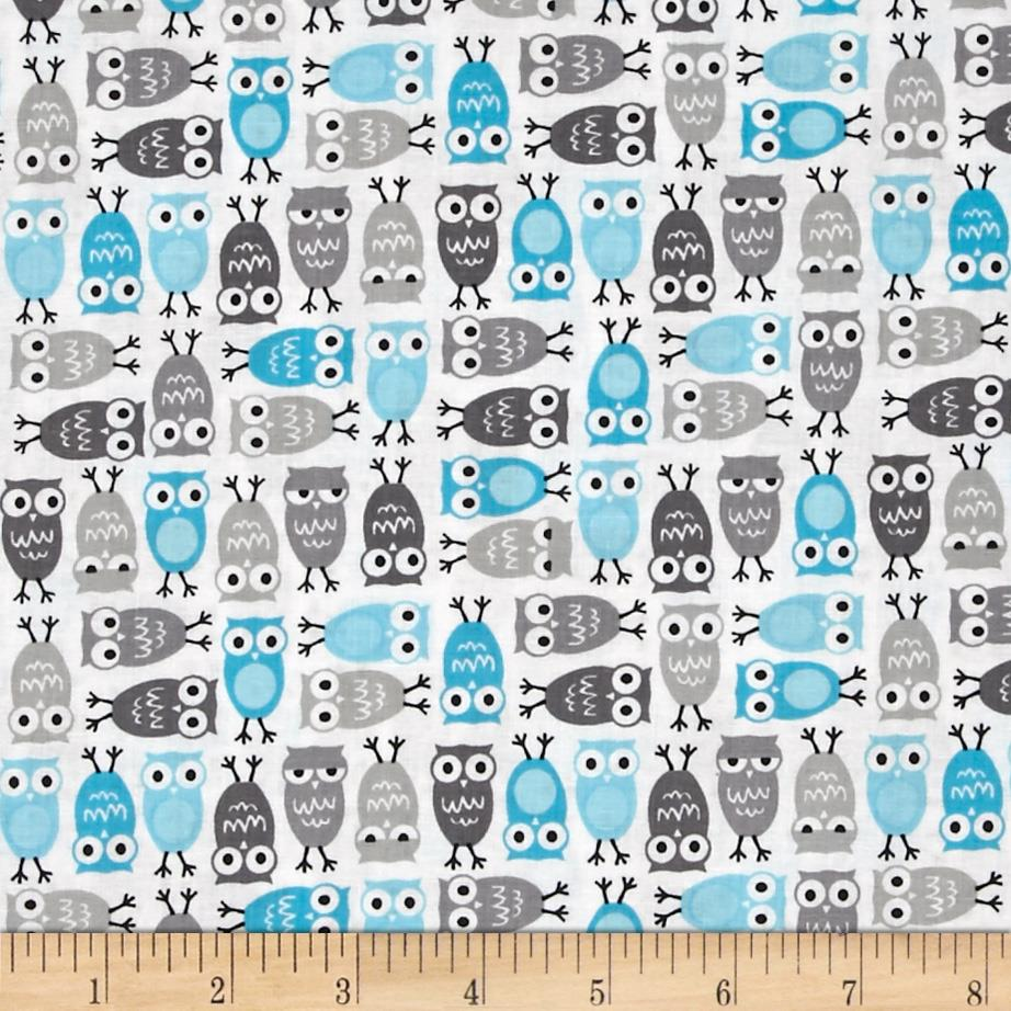 Kaufman Urban Zoologie Mini Owls Sky