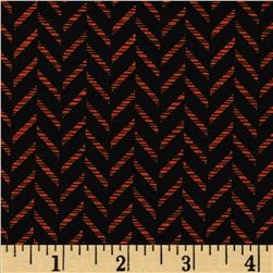Kanvas Boo Basics Zig Zag Black/Orange