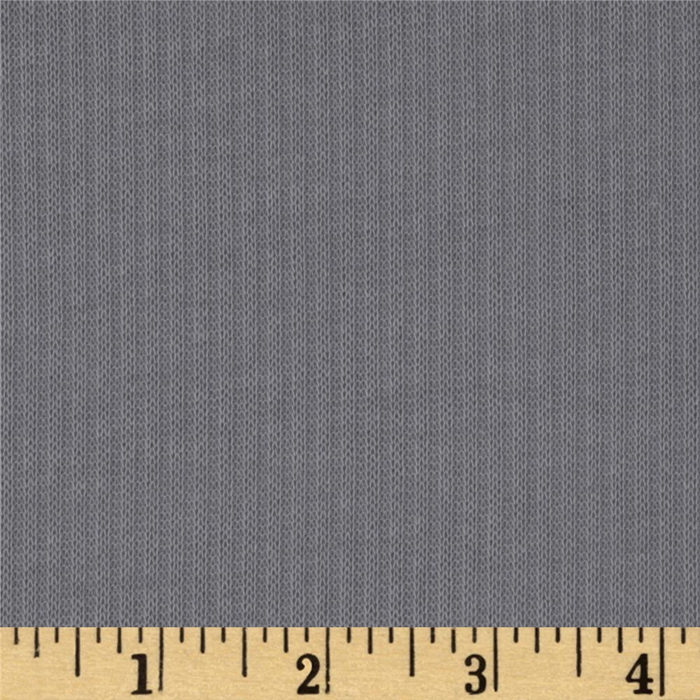 Hatchi Rib Knit Light Grey