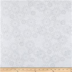 Timeless Treasures Back Judy Niemeyer Seasonal Portraits Snowflake White