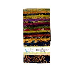 "Island Batik Hollywood Hills 2.5"" Strip Pack"