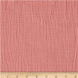 Heavy Cotton Gauze Pink