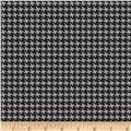 Riley Blake RoseCliff Manor Houndstooth Black