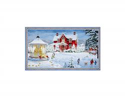 Winter's Eve Horizontal 24 In. Panel Multi