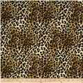 Ponte Roma Knit Cheetah Black/Gold