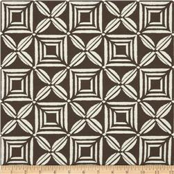 Duralee Vera Cruz Jacquard Chocolate Fabric