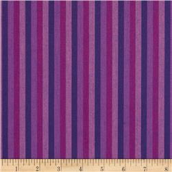 Peppered Cotton Small Stripe Sweetheart