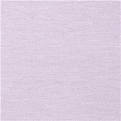 Cotton/Lycra Stretch Jersey Soft Lilac