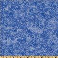 Moda Marble Swirls (9908-43) Bright Blue
