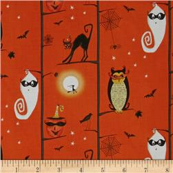 Cheeky Wee Pumpkins Owls/Cats In Trees