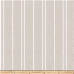 Trend 03649 Linen Blend Satin Stripe Natural