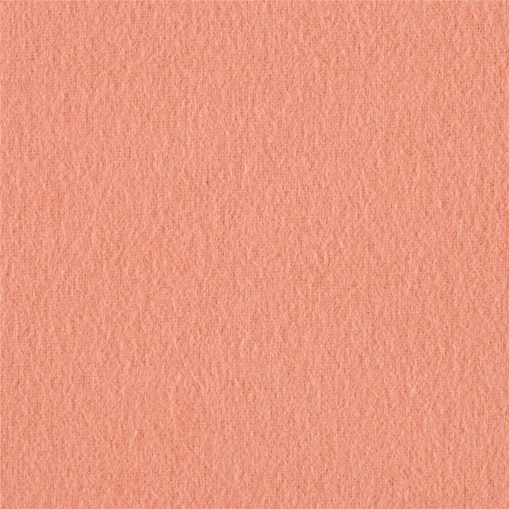 Kaufman Flannel Solid Peach